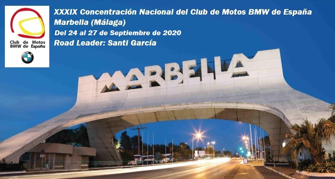 NUEVAS FECHAS PARA LA NACIONAL DE MARBELLA 2020